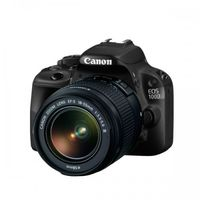Canon EOS 100D EF-S 18-55mm DC III, Black