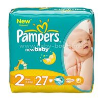 Pampers New Baby Mini 2 ( 3-6 кг.) 27 шт.