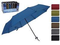 Зонт складной D52cm, одноцветный, 6цветов