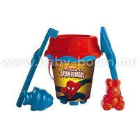 """Unice  311001 Ведерко и две формочки""""Spiderman"""""""
