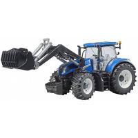 Tractor New Holland t7 cu roți de încărcare detașabile, cod 42292