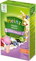 Heinz Лакомая каша овсяная молочная яблоко, черника, черная смородина, 5+мес. 200г