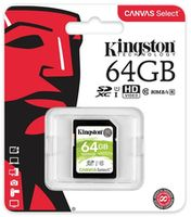 купить Kingston 64GB SDHC Canvas Select Class10 UHS-I, 400x, Up to: 80MB/s в Кишинёве