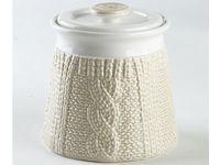 Емкость керамическая Pullover 500ml, цвет молочный