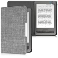 """Case Cover Pocketbook """"Dots"""" for Touch Lux 2-626, Basic Touch-624, Basic 2-614, Black/Light Grey"""