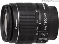 Zoom Lens Canon EF-S 18-55mm f/3.5-5.6 IS II