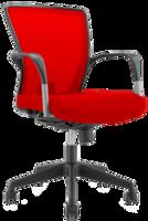 cumpără Scaun de birou cu spate din plasă roşie şi şezut roşu în Chișinău