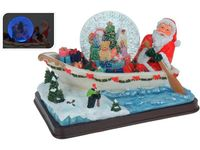 "купить Сувенир со снегом ""Шар на лодке"" 26X17X17сm в Кишинёве"