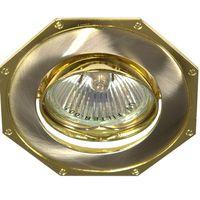 Feron Встраиваемый светильник 305T MR-16 золото