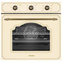 Встраиваемый электрический духовой шкаф Wolser WL- F 66 Rustic Ivory NEW