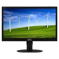 """23.0"""" Philips """"231B4QPYCB"""", Black (IPS, 1920x1080, 7ms, 250cd, LED20M:1, DVI, DP, Pivot) (23.0"""" IPS+W-LED : , 1920x1080 Full-HD, 0.265mm, 14ms/7ms GTG, 250 cd/m², DCR 20 Mln:1 (1000:1), 16.7M Colors, 178°/178° @C/R>10, 30-83 kHz(H)/56-75 Hz(V), DisplayPort + DVI-D + Analog D-Sub, Stereo Audio-In, Headphone-Out, Built-in speakers, USB 2.0 x2-Hub, Built-in PSU, HAS 110mm, Tilt: -5/+20°, Swivel: +/-65°, Pivot, VESA Mount 100x100, PowerSensor : Black)"""
