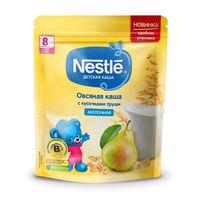 Nestle каша овсяная молочная с кусочками груши, 8+мес. 220г