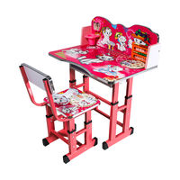 Детский столовый гарнитур со стулом 592 розовый