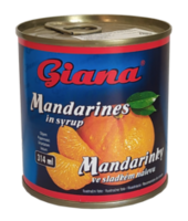 Mandarine in sirop Giana