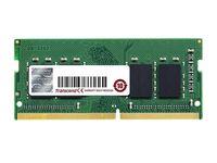 .4GB DDR4-2666MHz  SODIMM  Transcend PC21300, CL19, 260pin DIMM 1.2V
