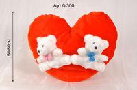 Сердце с медвежатами арт.0-300