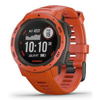 Часы Garmin Instinct, Flame Red, 010-02064-02