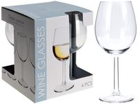 Set pahare pentru vin alb Vinissimo 4buc, 430ml, H20сm