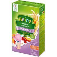Heinz Лакомая каша пшеничная молочная абрикос, персик, вишня, 5+мес. 200г