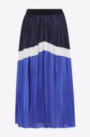 Юбка CO'COUTURE Синий/белый camden plisse