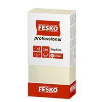 Салфетки сервировочные Fesko Professional, 2 слоя,  250 листов, (шампань).