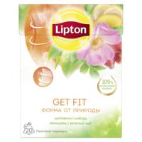 Lipton Get Fit зеленый чай в пирамидках, 20 шт