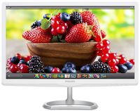 """27.0"""" Philips """"276E6ADSS"""", G.White (IPS, 1920x1080, 5ms, 300cd, QD-LED20M:1, HDMI, DVI,VGA) (27.0"""" IPS QD-LED, Elegant slim design, White/Silver-Glossy)"""