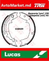 TUCSON 2004-2010 Колодки  барабанные 190х40
