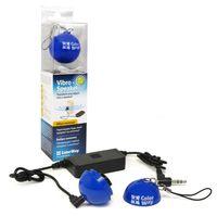 Vibro-Speaker CW-SPB02BL  (Blue, Max: 2W RMS, 500-20kHz, 4ohm, 3.5mm, 2xAAA)