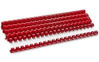 ARGO Пружина пластиковая ARGO A4/12.5мм, 10 штук, красная