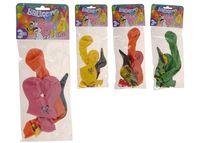"""Набор шаров воздушных 3шт, разные формы""""большая фигура"""""""