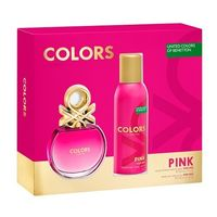 Benetton United Colors Pink EDT 50ml + Deo Spray 150ml