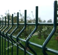 cumpără Panou gard bordurat zincat şi vopsit - H 1530 mm - L -2500mm , D-4.0mm în Chișinău