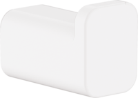AddStoris Cuier pentru prosop, alb mat
