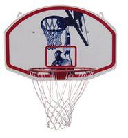 Щит баскетбольный + кольцо + сетка 90x60 см Spartan 1180 (3961)