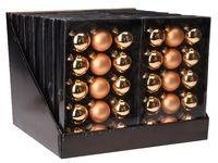 купить Набор шаров 15X45mm, 5матов, 10глянц, золотых, в коробке в Кишинёве