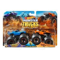 Mattel Hot Wheels Набор машинок Monster Trucks, 2 штк
