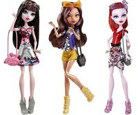 Fisher Price CHW57 Кукла Monster High