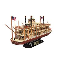 3D PUZZLE Mississippi Steamboat