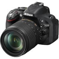 NIKON D5200 KIT 18-105 VR, чёрный