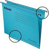 Esselte Папка навесная ESSELTE A4 с индикатором, синяя
