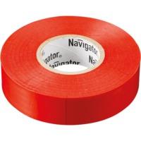 """Изолента красная """"Navigator"""" серии NIT"""