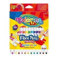 Carioci Fibre Pens Junior  12 cul.  Colorino