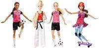 "Barbie DVF68 Кукла ""Спортсменка""  в асс.(4)"