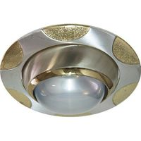 Feron Встраиваемый светильник 156 R-50 хром