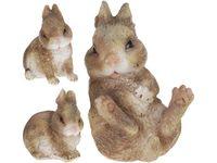 Кролик декоративный H10cm, 8.5Х7.5cm