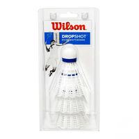 купить Воланчики для бадминтона (набор 3 шт.)   WILSON DROPSHOT 3 CLAMSHEL WH WRT6048WH (3568) в Кишинёве