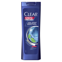 Шампунь против перхоти Clear Cool Sport Mentol, 400 мл
