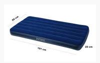Intex Матрас надувной велюр, 99 x191 x 22 см