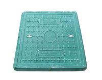 купить Люк квадратный с рамой композитный 500 х 500/ 2т зел. (h=40mm, 23kg) в Кишинёве